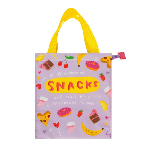 The Happy News Snacks Bag by Emily Coxhead