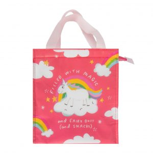 The Happy News Unicorn Snacks Bag by Emily Coxhead