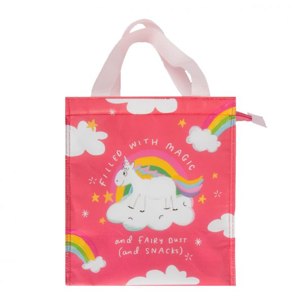The Happy News Unicorn Snacks Bag by Emily Coxhead
