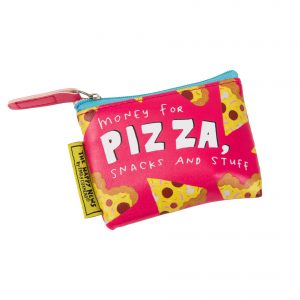 The Happy News Pizza Tiny Purse by Emily Coxhead