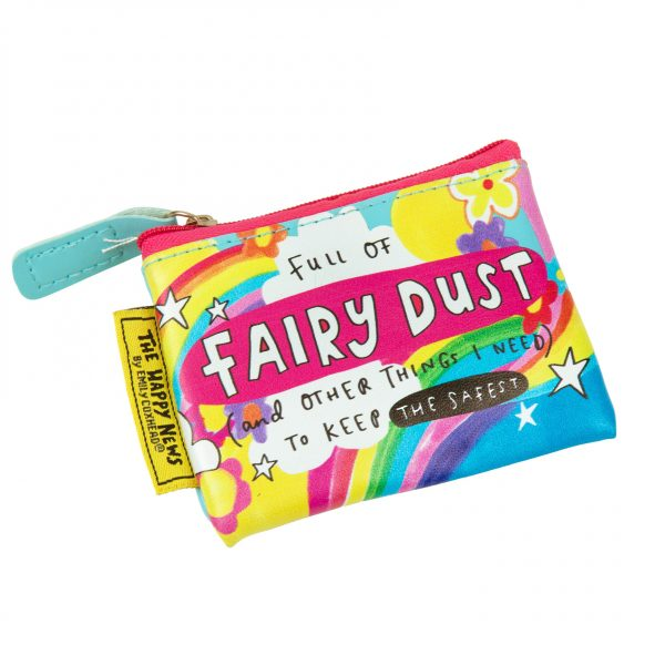 The Happy News Fairy Dust Tiny Purse by Emily Coxhead