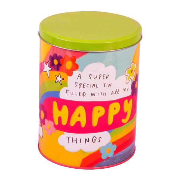 The Happy News Storage Tin Happy Things