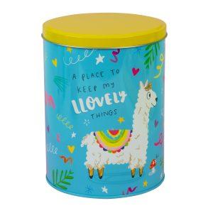 The Happy News Storage Tin Llama