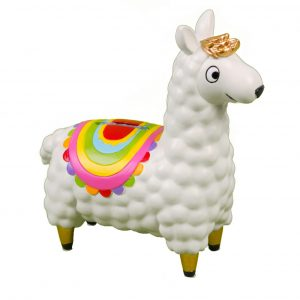 The Happy News Money Bank Llama