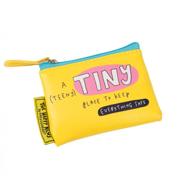 The Happy News Tiny Place Tiny Purse by Emily Coxhead