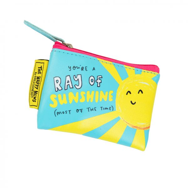 The Happy News Ray of Sunshine Tiny Purse by Emily Coxhead