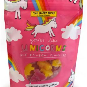 The Happy News Unicorn jellies