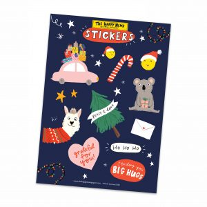 The Happy News Christmas Sticker Sheets