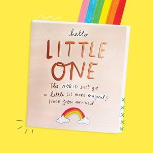 The Happy News Hello Little One New Baby Card